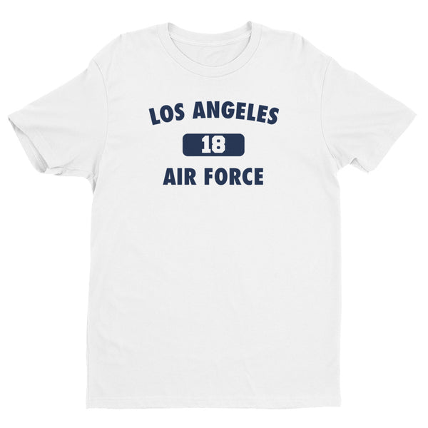 Los Angeles Air Force # 18 Short Sleeve T-shirt