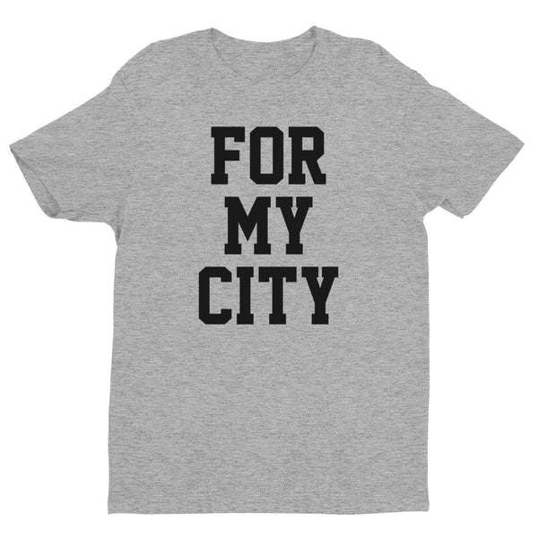 For My City short sleeve men's t-shirt