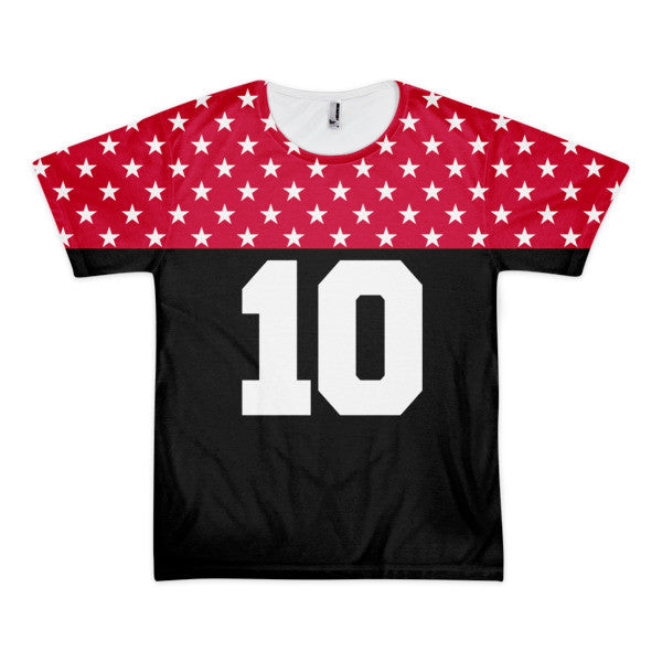Red Star # 10 short sleeve men's t-shirt (unisex)