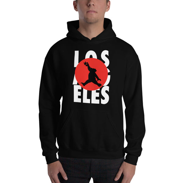 Los Angeles Moonshot Bear Hooded Sweatshirt