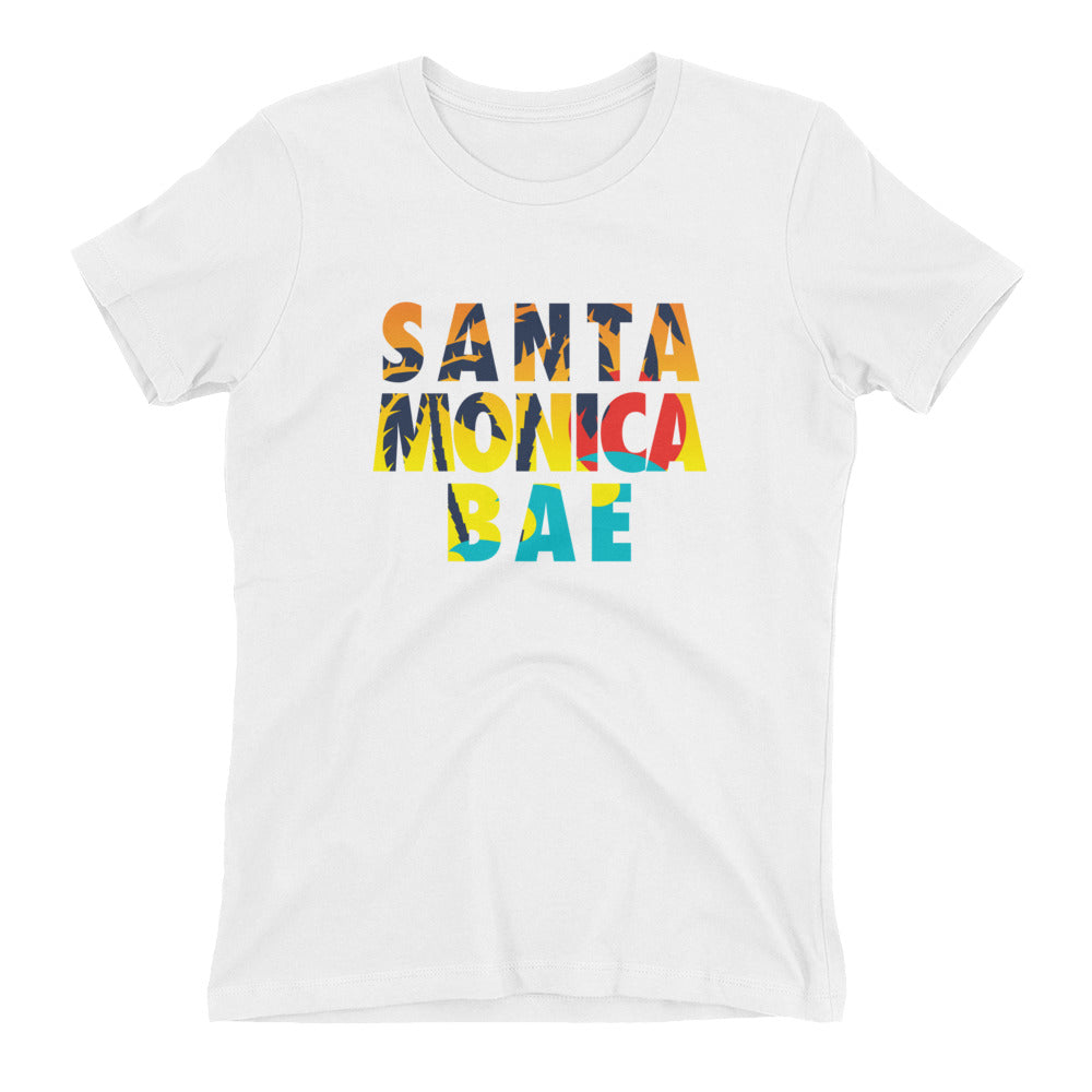 Santa Monica Bae Women's t-shirt