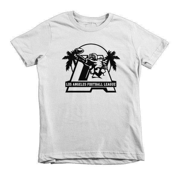 LAFL Logo (Black print) - Short sleeve kids t-shirt