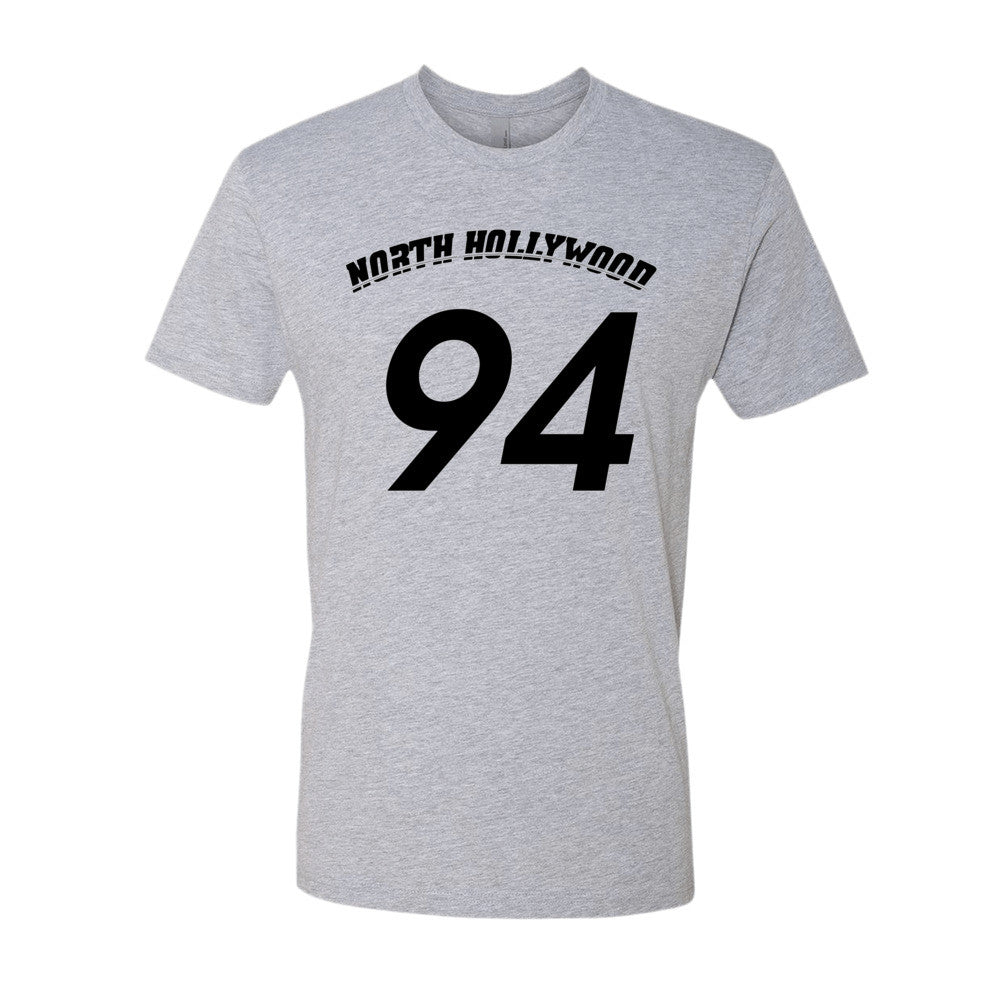 North Hollywood (black print) short sleeve men's t-shirt
