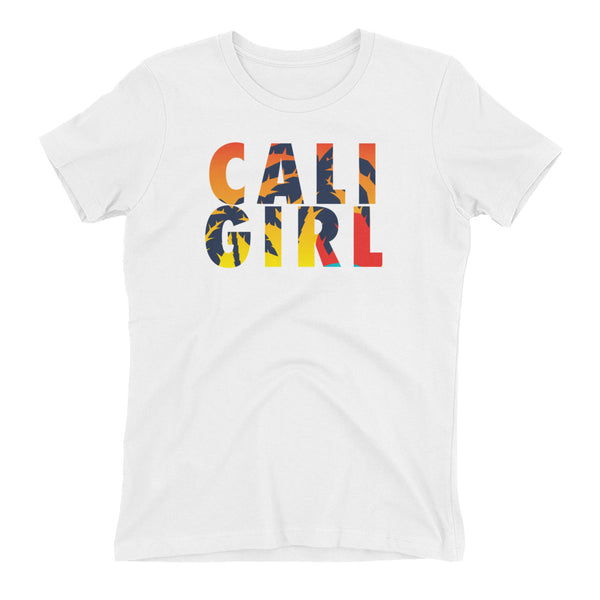 Cali Girl sunset Women's t-shirt