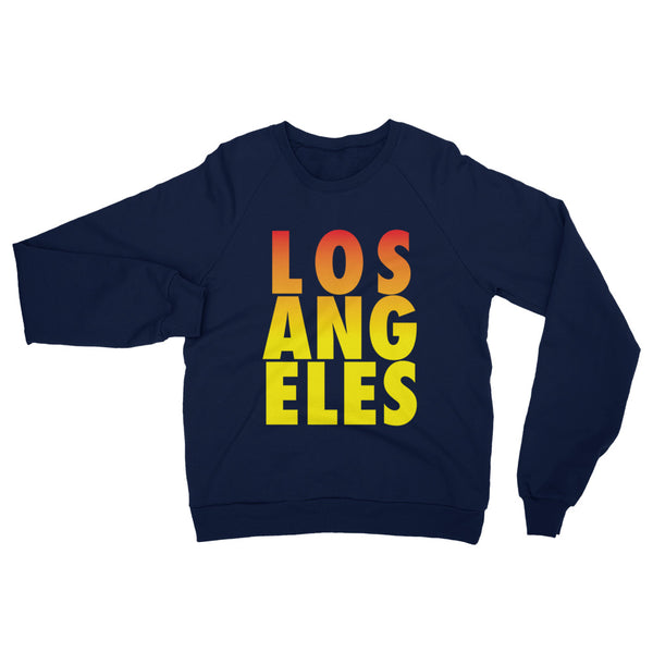 Los Angeles Unisex California Fleece Raglan Sweatshirt