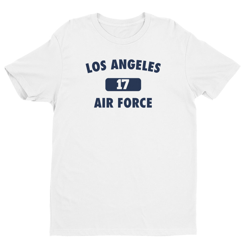 Los Angeles Air Force # 17 Short Sleeve T-shirt