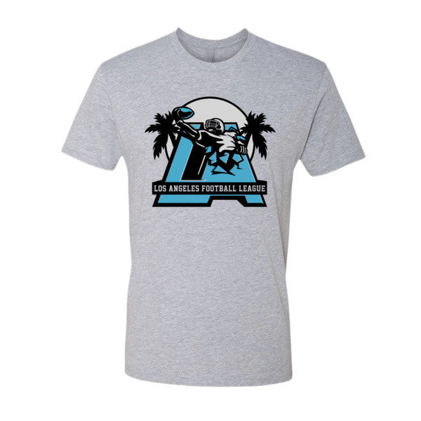 LAFL Logo (Blue + Gray print) - Short sleeve men's t-shirt