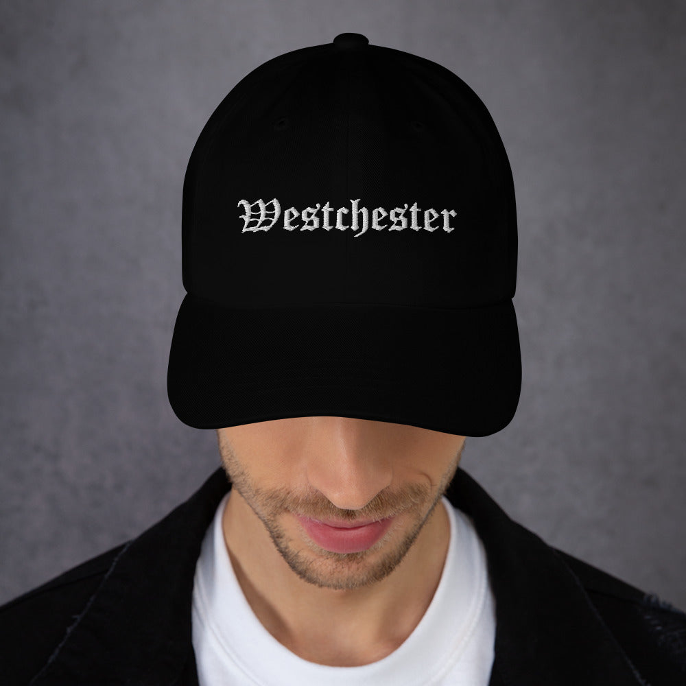 Westchester Old English Style Embroidery Dad hat