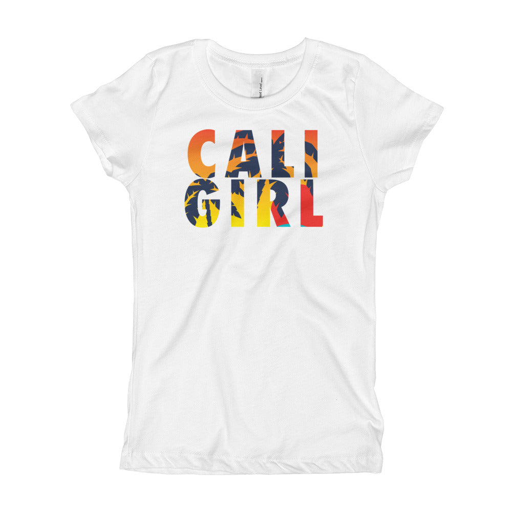 Cali Girl sunset Girl's T-Shirt