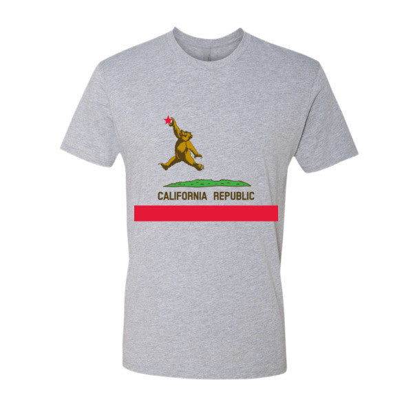 Cali Bear Republic short sleeve men's t-shirt