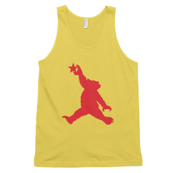 Cali Bear (red) classic tank top (unisex)