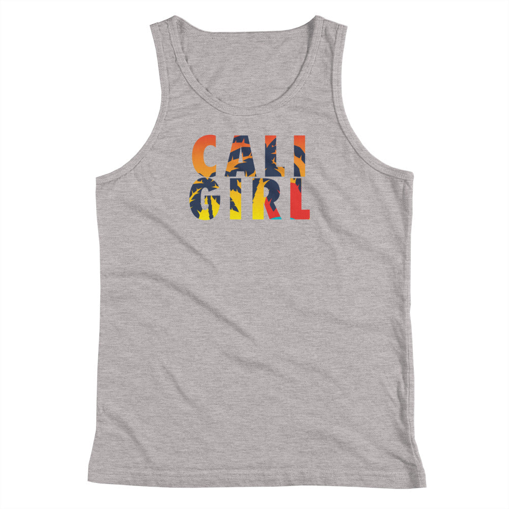 Cali Girl Sunset Youth Tank Top
