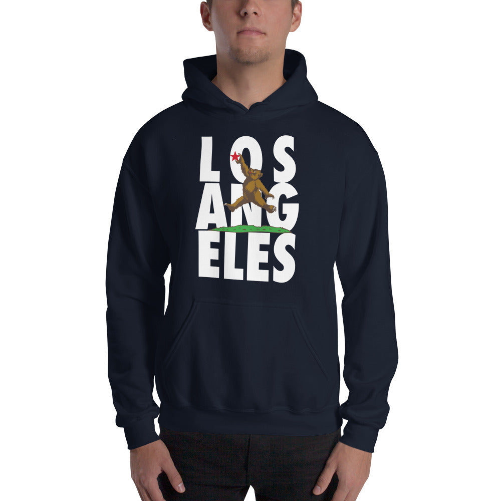Los Angeles Jumping Bear Hooded Sweatshirt