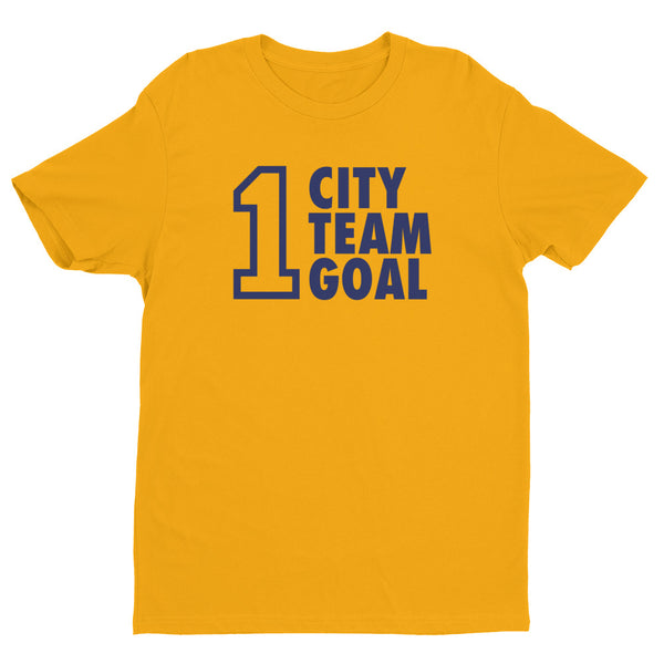 1 City, 1 Team, 1 Goal Short Sleeve T-shirt