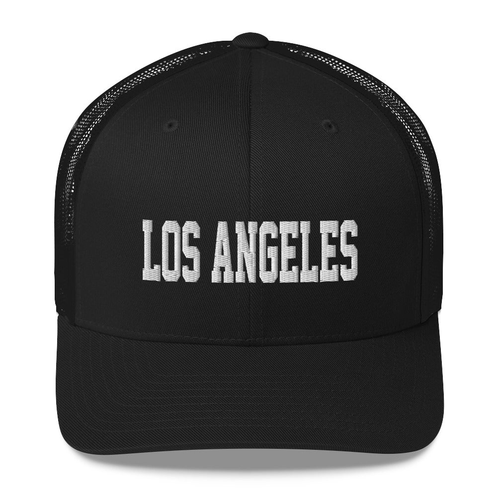 Los Angeles Varsity Style Trucker Cap