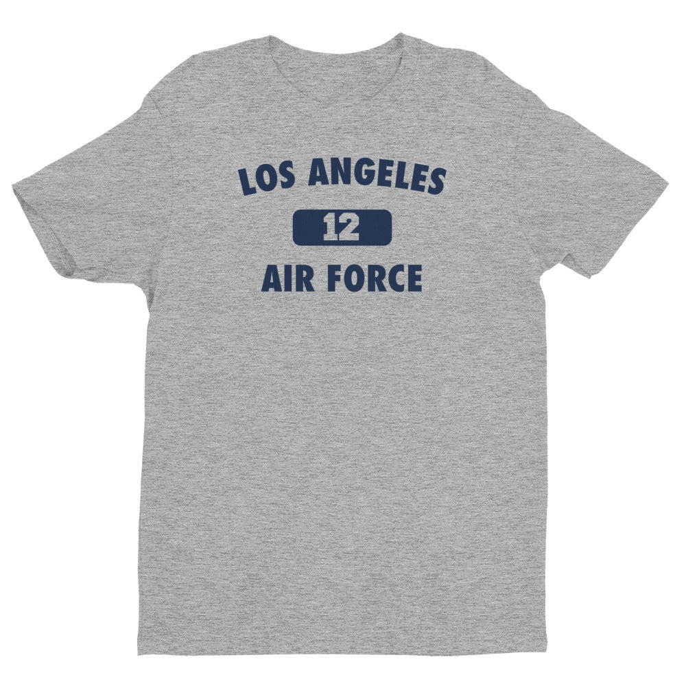 Los Angeles Air Force # 12 Short Sleeve T-shirt