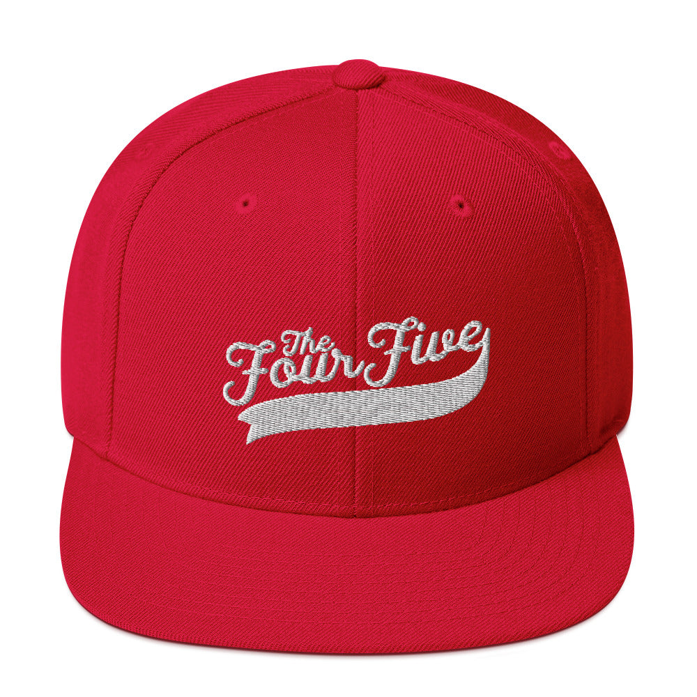 The Four Five Snapback Hat