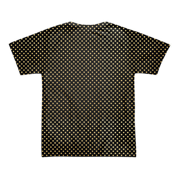 LA star (black/gold) short sleeve men's t-shirt (unisex)