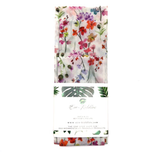 3-Piece Vegan Wax Wraps - Floral - The Weekly Shop | Plastic Free Online Shop