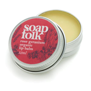 Rose Geranium Organic Lip Balm - The Weekly Shop | Plastic Free Online Shop