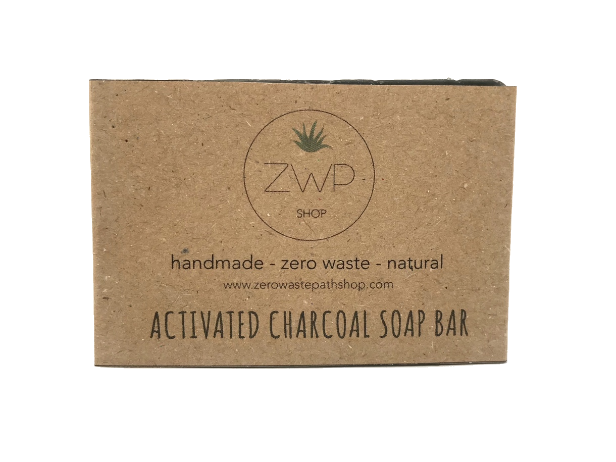 Activated Charcoal Soap - The Weekly Shop | Plastic Free Online Shop