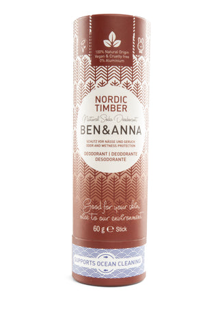 Natural Soda Deodorant - Nordic Timber - The Weekly Shop | Plastic Free Online Shop