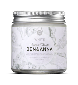 Natural Toothpaste - White - The Weekly Shop | Plastic Free Online Shop