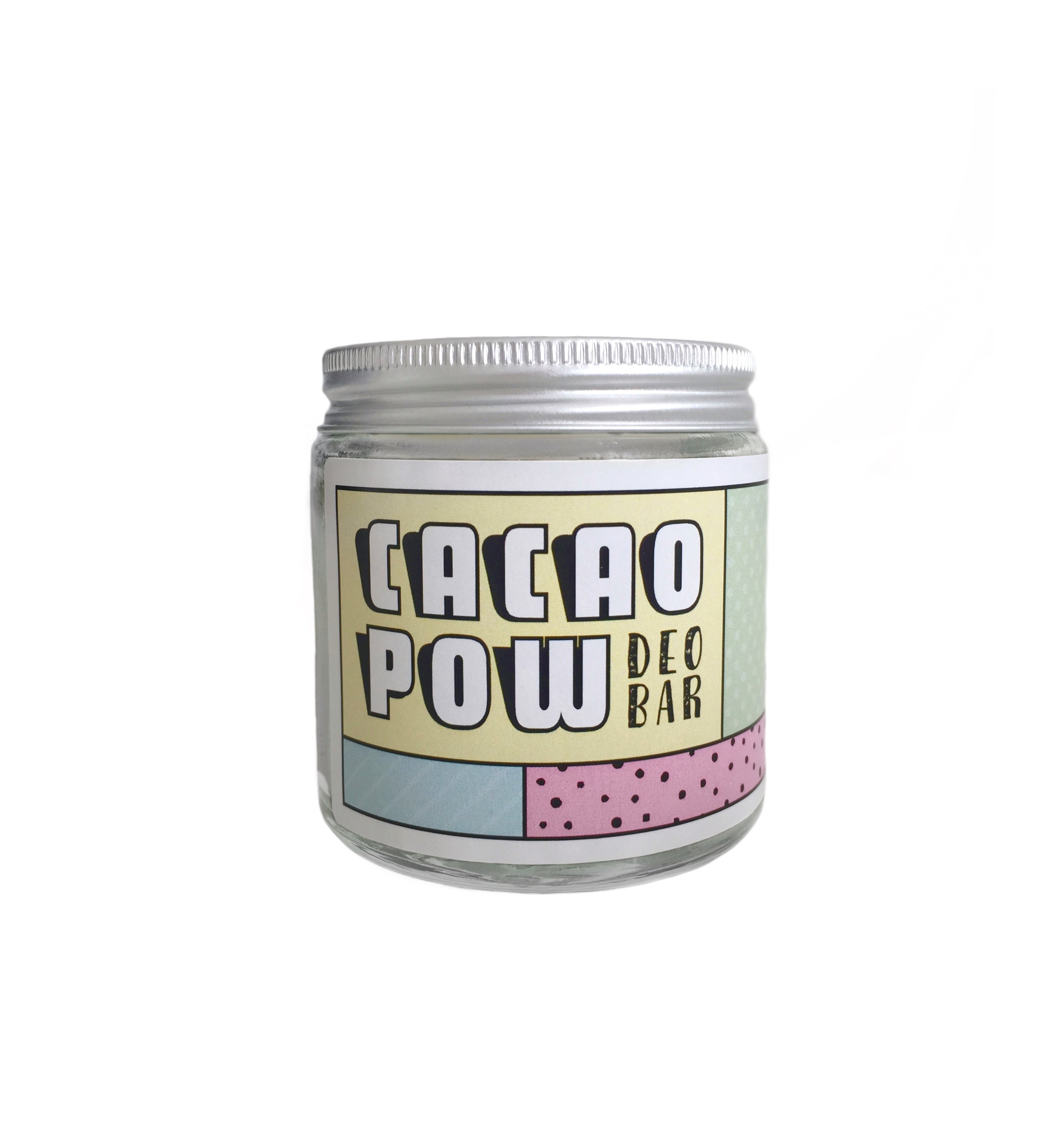 Cacao Pow Deo Bar - Mini - The Weekly Shop | Plastic Free Online Shop