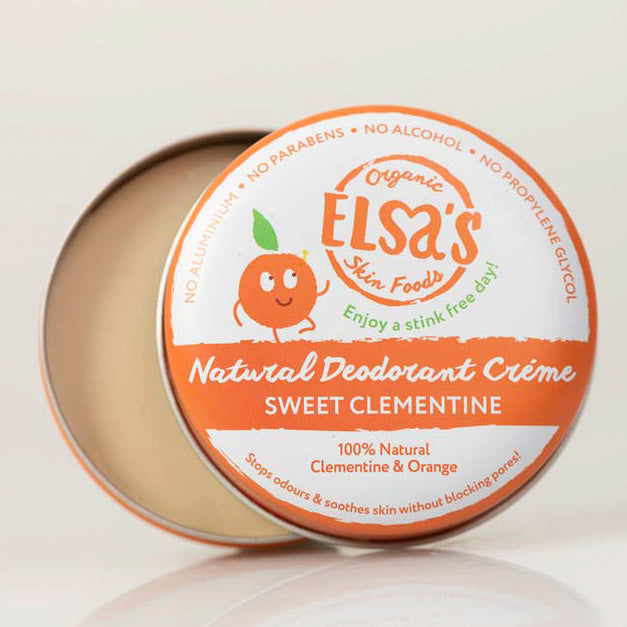 Sweet Clementine Crème Deodorant - The Weekly Shop | Plastic Free Online Shop