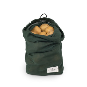 Cloth Food Bag - Dark Green - The Weekly Shop | Plastic Free Online Shop