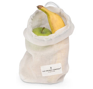 Cloth Food Bag - Natural White - The Weekly Shop | Plastic Free Online Shop