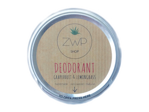 Grapefruit & Lemongrass Deodorant - The Weekly Shop | Plastic Free Online Shop