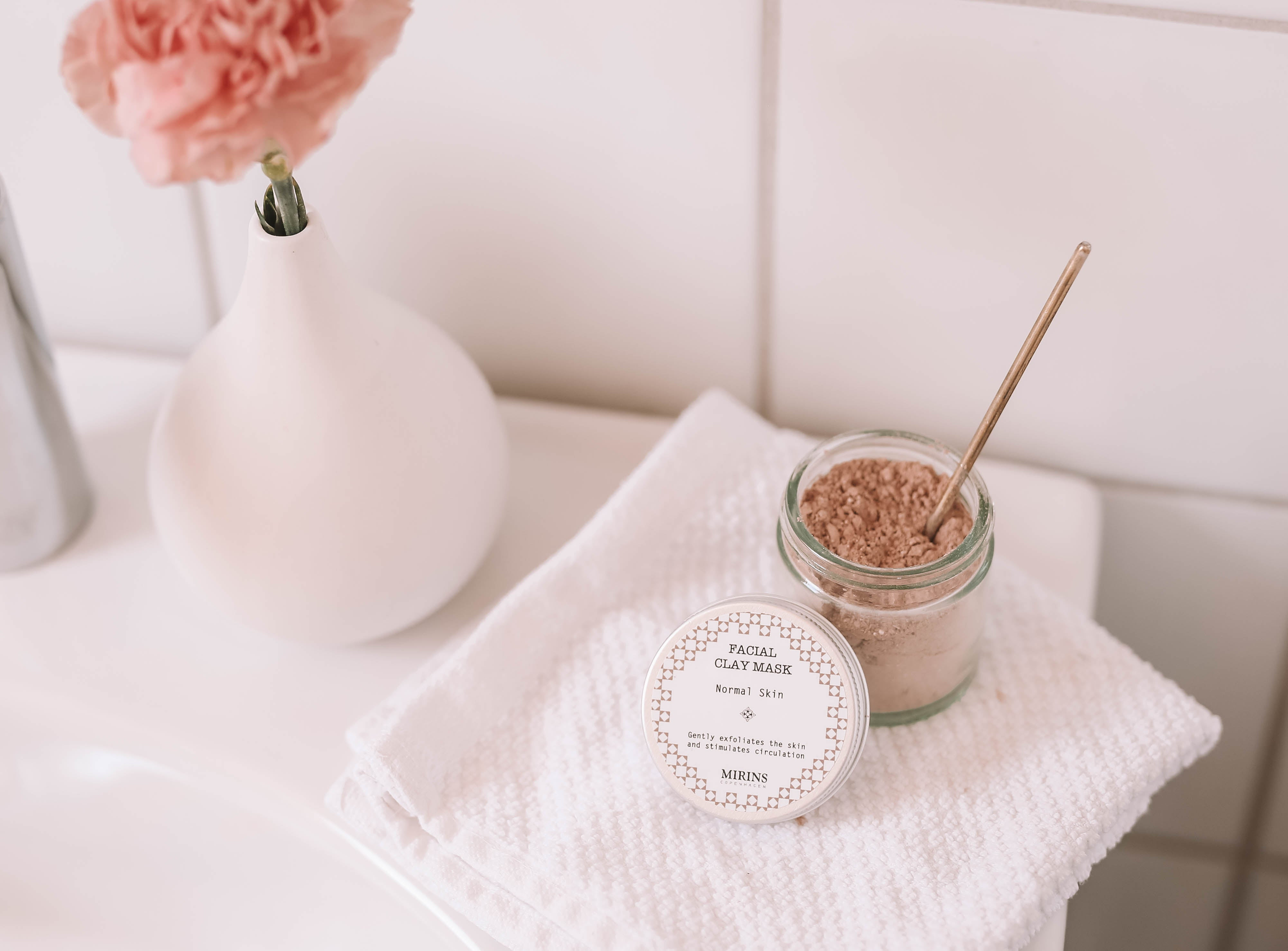 Facial Clay Mask - Normal Skin - The Weekly Shop | Plastic Free Online Shop