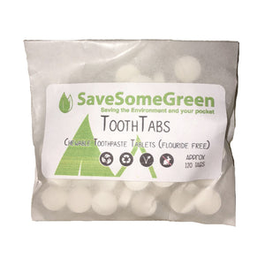ToothTabs Fluoride Free Refill - The Weekly Shop | Plastic Free Online Shop