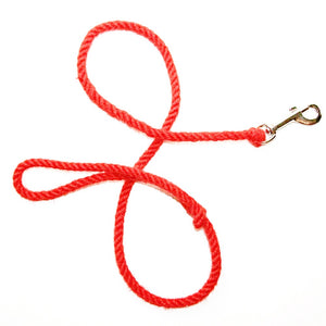 Plastic Free Dog Lead - Red - The Weekly Shop | Plastic Free Online Shop