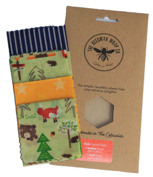The Beeswax Wrap Co. Lunch Pack for Children