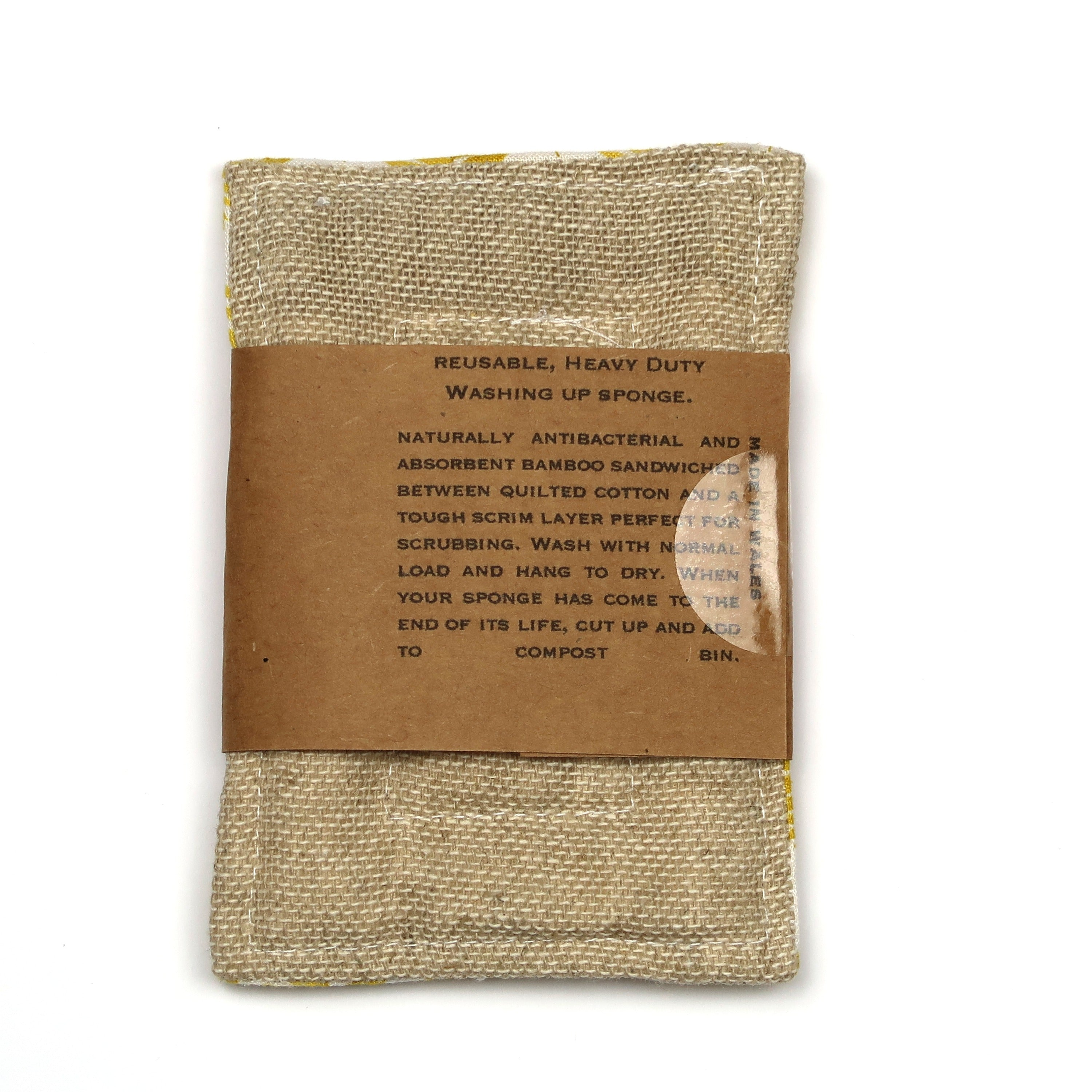 Tough None Sponge - Silver Leaf - The Weekly Shop | Plastic Free Online Shop