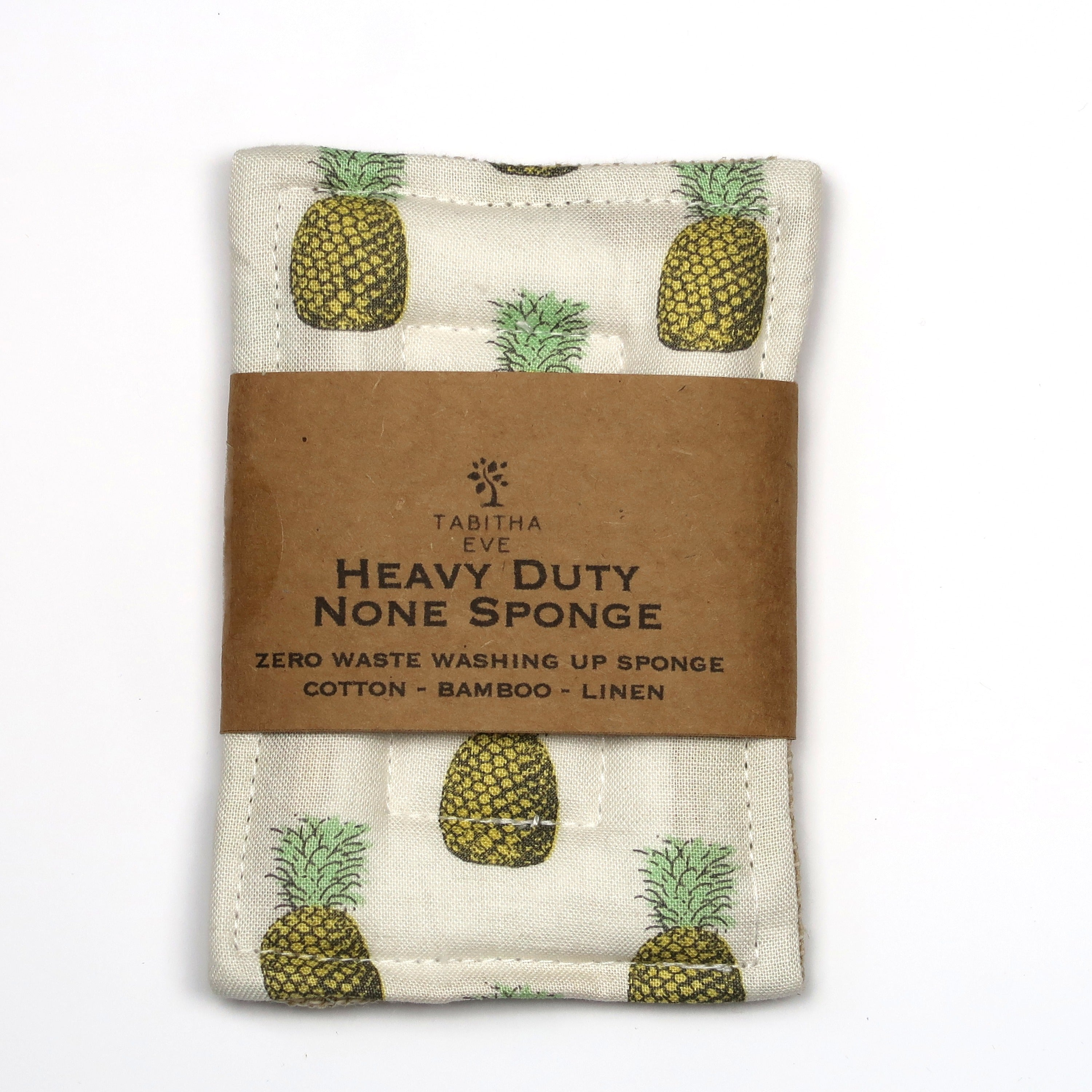 Tabitha Eve Co Heavy Duty None Sponge Pineapple Front View