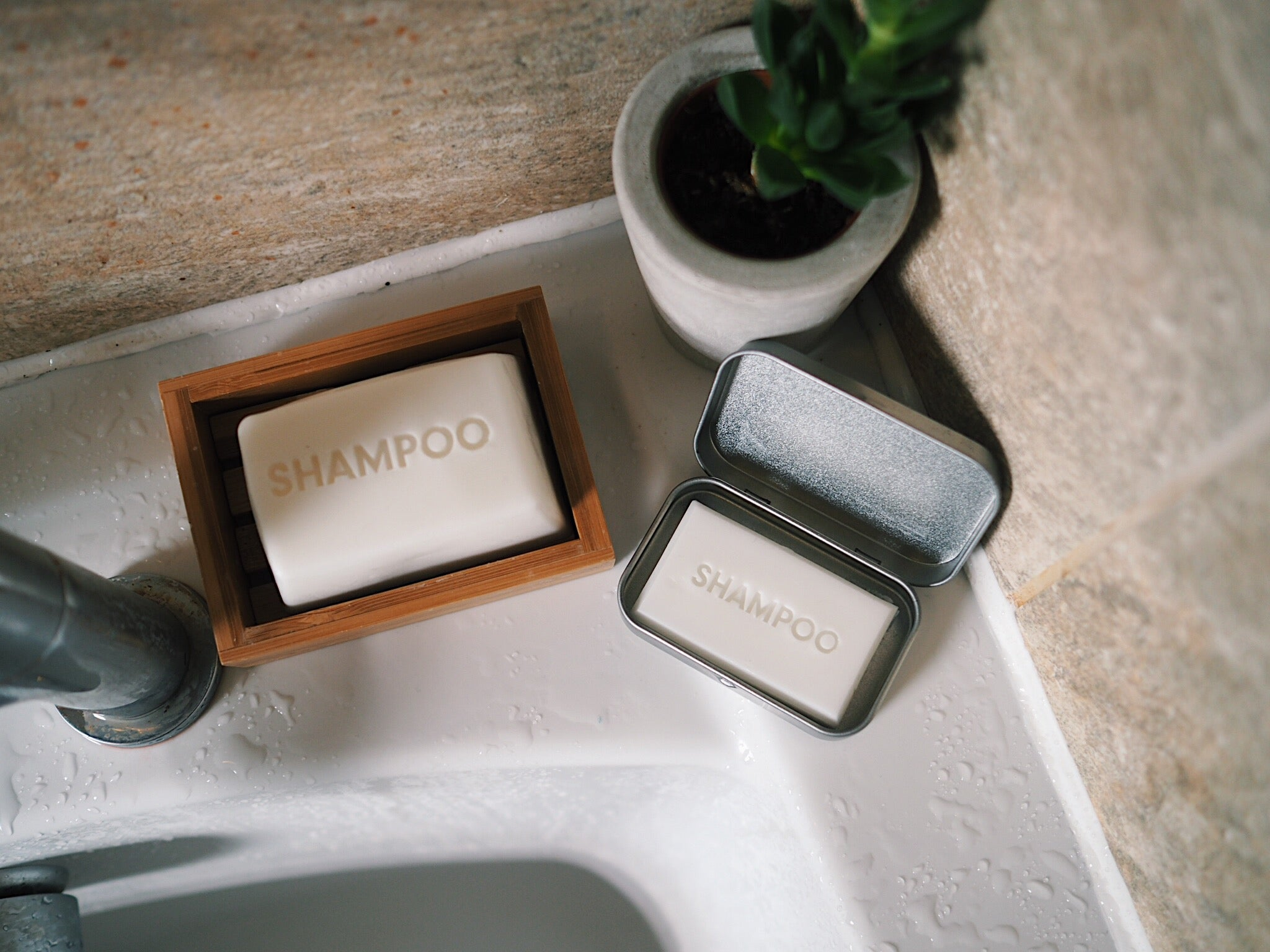 Geranium, Neroli, Ylang Ylang Travel Shampoo Bar - The Weekly Shop | Plastic Free Online Shop
