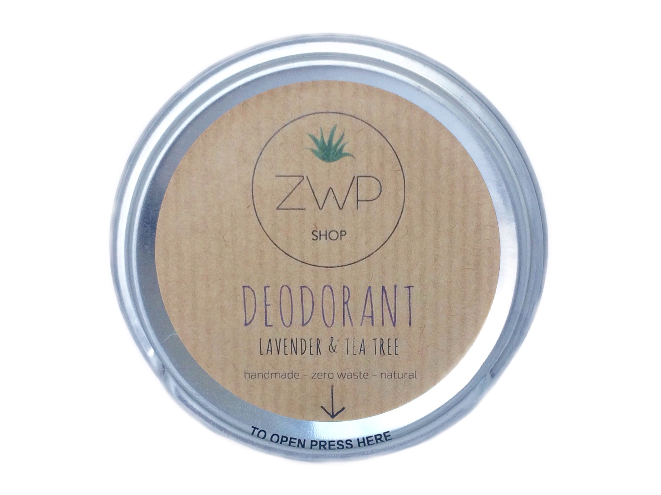 Lavender & Tea Tree Deodorant - The Weekly Shop | Plastic Free Online Shop