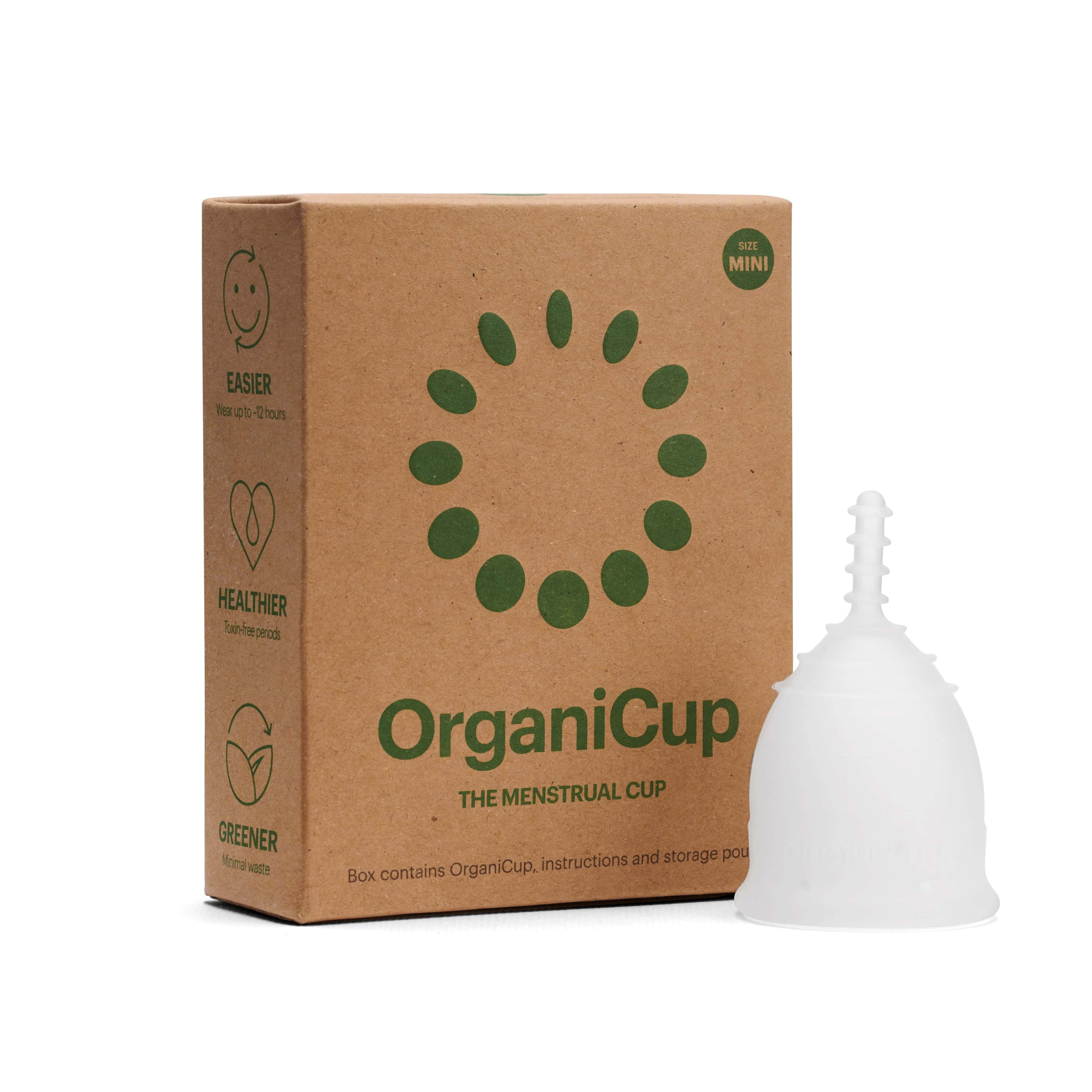 OrganiCup Menstrual Cup - Mini - The Weekly Shop | Plastic Free Online Shop