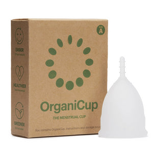 OrganiCup Menstrual Cup - Size A - The Weekly Shop | Plastic Free Online Shop