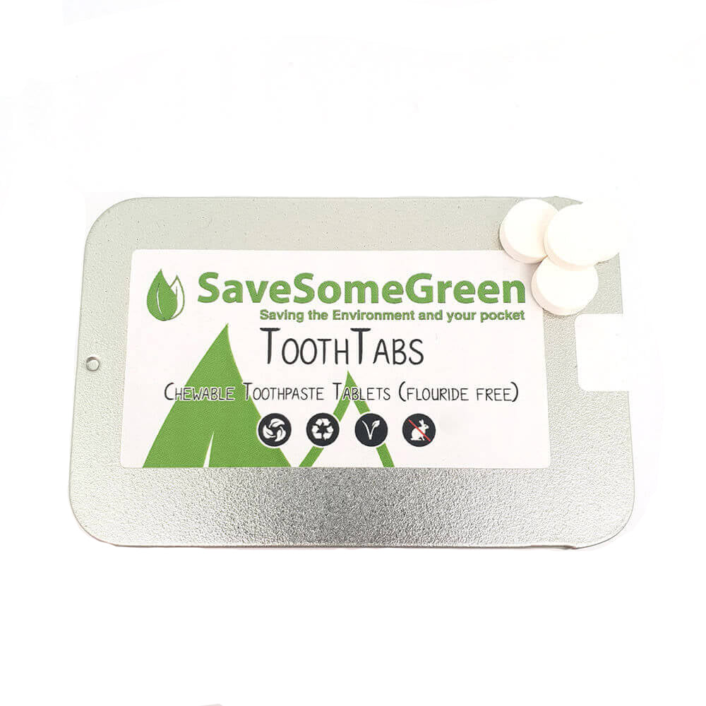 Fluoride Free ToothTabs - The Weekly Shop | Plastic Free Online Shop
