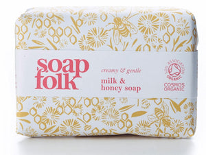 Milk & Honey Organic Soap - The Weekly Shop | Plastic Free Online Shop