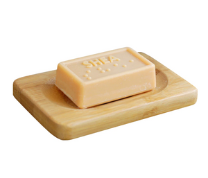 Slim Bamboo Soap Dish Tray - The Weekly Shop | Plastic Free Online Shop