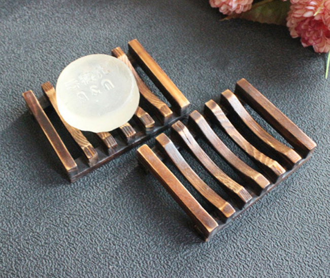 Classic Bamboo Soap Dish Tray - The Weekly Shop | Plastic Free Online Shop