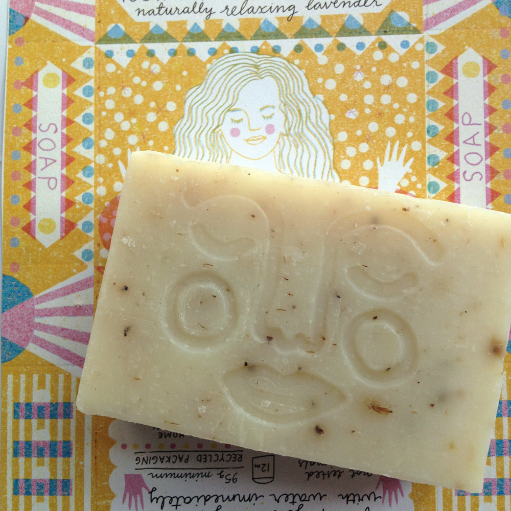 Relaxing Bath Soap Bar - The Weekly Shop | Plastic Free Online Shop