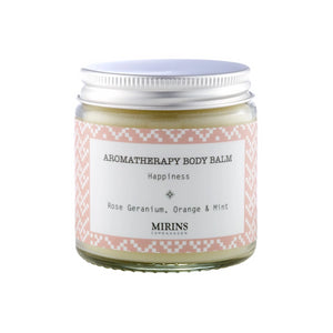 Rose Geranium, Orange & Mint Body Balm - The Weekly Shop | Plastic Free Online Shop