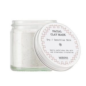 Facial Clay Mask - Dry / Sensitive - The Weekly Shop | Plastic Free Online Shop