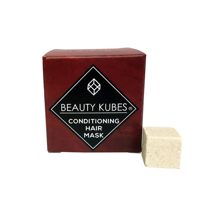 Beauty Kubes Conditioner Front View with kube